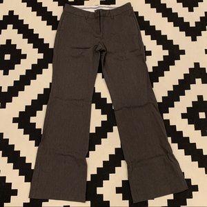 Express Sz8 Charcoal Dress Pants Editor Fit